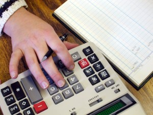 Подсчет денег для перечисления алиментов через бухгалтерию