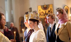 Церковный брак - обряд венчания