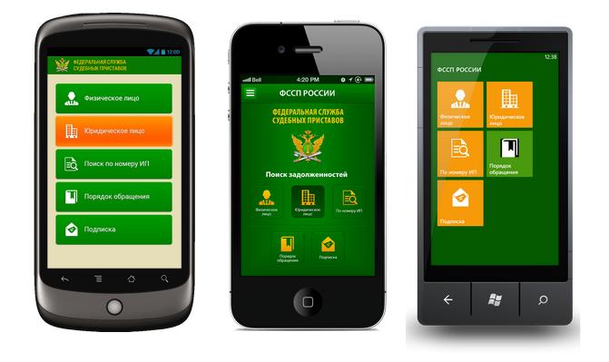 ФСССП для мобильных устройств